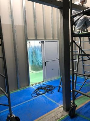 キューピー 冷凍室壁下地工事_200506_0002